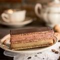 Fedorka ciastko orzechowo czekoladowa uczta na waflu , mocno alkoholowa