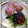24 Muffinka z owocami