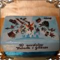 29 Tort Patapon opłatek na tort