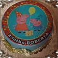 31 Tort z świnką Peppa i  George cake