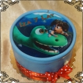52 Tort dobry dinozaur fototort chłopiec Babel