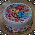 61 Tort kucyki pony fototort 3 kucyki rainbow dush pinkie pie Applejack