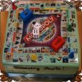 70 Tort Monopol Świat gra fototort kostki do gry