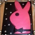 44 Tort  z królikiem Playboya przestrzenny Cukiernia Pod Arkadami Kraków