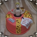 62 Tort wieczór panieński facet wyskakujący z tortu tort z niespodzianką