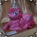 116 Tort  Pinkie pie przestrzenny różowy kucyk My Little Pony