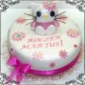 19 Tort dla dziewczynki Hello Kitty Cukiernia Pod Arkadami Kraków