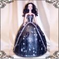 21 Tort dla dziewczynek  z dużą czarną lalką 4kg Cukiernia Pod Arkadami Kraków
