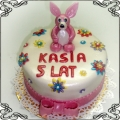 54 Tort dla dziecka na urodziny z królikiem Cukiernia Pod Arkadami Kraków