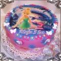 9 Tort dla dziecka dzwoneczek Tinker Bell cake