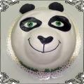 100 Tort dla dzieci z misiem Panda Cukiernia Pod Arkadami Kraków