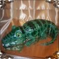 32 Tort artystyczny  przestrzenny krokodyl  Cukiernia Pod Arkadami Kraków l