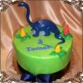 58 Tort dla dziecka z dinozaurem brontozaur dla dziecka Cukiernia Pod Arkadami Kraków