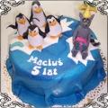 6 Tort dla dzieci z Królem Julianem i Pingwinami z Madagaskaru Cukiernia Pod Arkadami Kraków