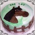 76 Tort dla dziecka koń w zagrodzie Cukiernia Pod Arkadami Kraków