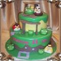 81 Tort Angry Birds piętrowt dla Marysi