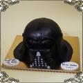88 Tort w kształcie hełmu Lorda Vadera z Gwiezdnych Wojen - Przestrzenny Star Wars