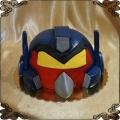 93 Tort angry birds transformers przestrzenny tort czerwony ptak