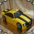 95 Tort transformers żółty Chevrolet Camaro Bumble bee  auto 3D