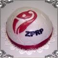 25 Tort dla Związku Piłki Ręcznej w Polsce Cukiernia Pod Arkadami Kraków  Krakowskie Torty Artystyczne