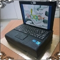 113 Tort laptop notebook z klawiaturą dla biznesmena