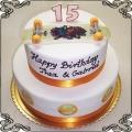116 Tort z deskorolką na piętnaste urodziny