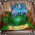 20 Tort lecący  żółw  i cztery słonie niosące świat Terrygo Pratchetta