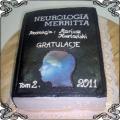 33 Tort dla studenta medycyny z książką Torty artystyczne Kraków Cukiernia Pod Arkadami