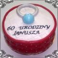 69 Tort z pierścionkiem dla jubilera Torty artystyczne Kraków Cukiernia Pod Arkadami
