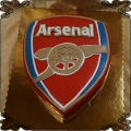 102 Tort herb piłkarski Arsenal Londyn FC piłka nożna dla kibica