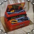 108 Tort mechanika skrzynia z narzędziami klucze śrubokręty młotek