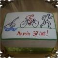 124 Tort Triathlon , trójbój pływanie kolarstwo i bieganie