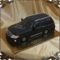 126 Tort w kształcie auta volkswagen czarny kombi