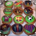 14 Babeczki FC Barcelona Torty artystyczne Kraków