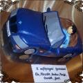 48 Tort niebieskie BMW cabrio kabriolet convertible