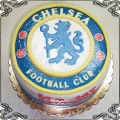 68 Tort Chelsea Football club okrągły dla kibica