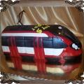 88 Tort szybki tramwaj czerwony  urodzinowy