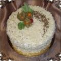 16 Tort klasyczny w wiórkach z białej czekolady Cukiernia Pod Arkadami Kraków