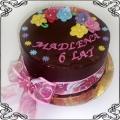 42 Tort na urodziny w ciemnej czekoladzie Cukiernia Pod Arkadami Kraków