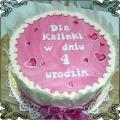 36 Tort na urodziny w serduszka Cukiernia Pod Arkadami Kraków