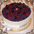62 Tort ze świeżymi owocami i tabliczki białej czekolady Cukiernia Pod Arkadami Kraków