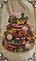 10 tort naked ze świeżymi owocami nagi tort sezonowy
