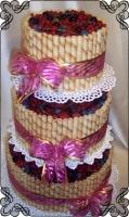 3 Tort na ślub ze świeżymi owocami sezonowymi Krakowskie Torty Artystyczne Cukiernia Kraków