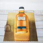 Tort w kształcie butelki whisky Talisker Neist Point