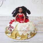 Tort z lalką Moana VAIANA Skarb Oceanu