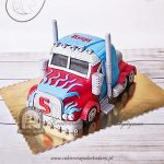 Tort Optimus Prime Transformers duży