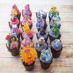 Muffinki na Dzień Dziecka z misiami kucykami Pony robotami księżniczkami minionkami biedronką i słoneczkiem