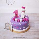 Tort na roczek - Aryskotraci kotka Marie