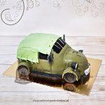 Tort w kształcie wojskowego samochodu UAZ GAZ69