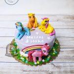 Tort z kucykami My Little Pony - Przyjaźń to magia